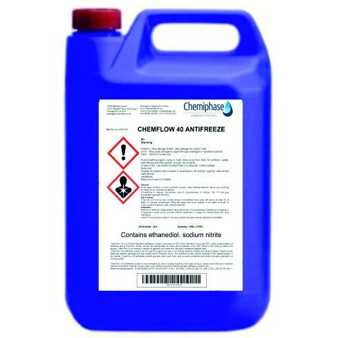 ChemFlow 40 Antifreeze/Coolant 4 x 5 Litres (20L) Chemiphase