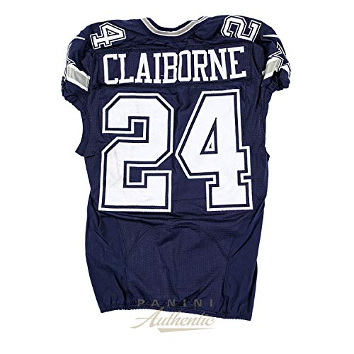 - Morris Claiborne Game Worn Dallas Cowboys Jersey From 10/4/2015 vs the New Orleans Saints ~Limited Edition 1/1~ - Panini Authentic - Panini Certified