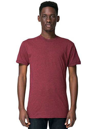 american-apparel-poly-cotton-short-sleeve-crew-neck-heather-cranberry-large