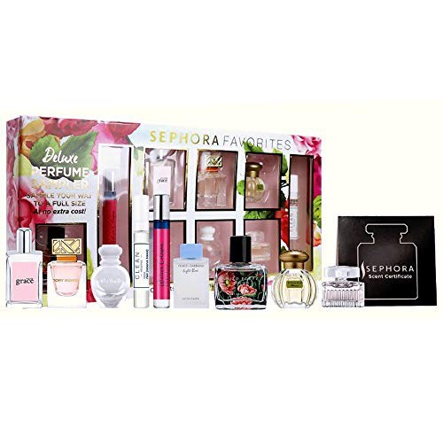 Sephora Favorite Mini Deluxe Perfume Sampler w/a Full Size Perfume, 9-PC Set
