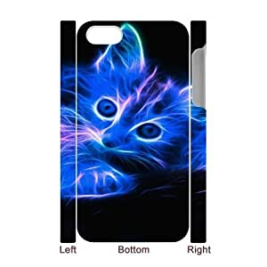 For Samsung Galaxy S5 Mini Case Cover CAT 3D Art Print Design Phone Back Case Personalized Hard Shell Protection FG060502
