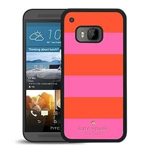 Unique Designed Kate Spade Cover Case For HTC ONE M9 Black Phone Case 275