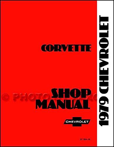 1979 Corvette Repair Shop Manual Original