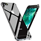 Verna iPhone 6 / iPhone 6S Case Transparent Soft TPU Crystal Clear Slim Flexible Drop Protection Cover, Wireless Charging Compatible for Apple iPhone 6 / iPhone 6S