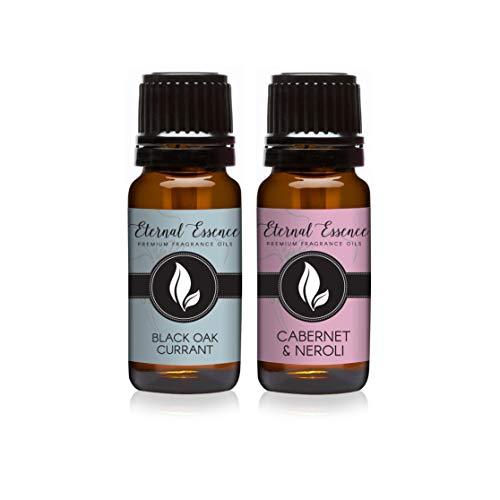 Apple Raspberry Eau De Parfum - Pair (2) - Black Oak Currant & Cabernet & Neroli - Premium Fragrance Oil Pair - 10ML