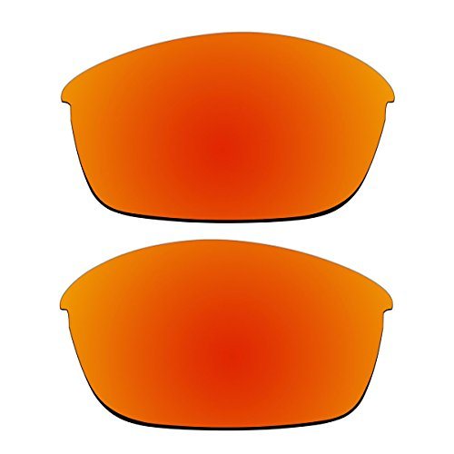 Replacement Polarized Lenses for Oakley Flak Jacket Sunglasses (Fire Red - 03 Oakley 881