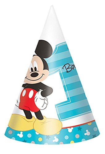 mickey mouse cone hats - 1