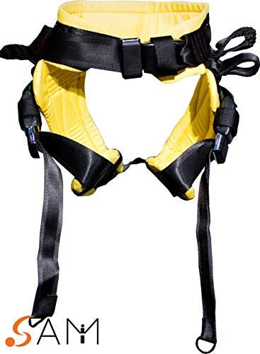 SAM Spotting Tumbling Belt - (Small, Yellow) ()