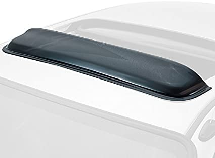 Auto Ventshade 77004 Windflector Classic Universal Sun Roof Wind Deflector fits up to 38.5 Wide Sunroof