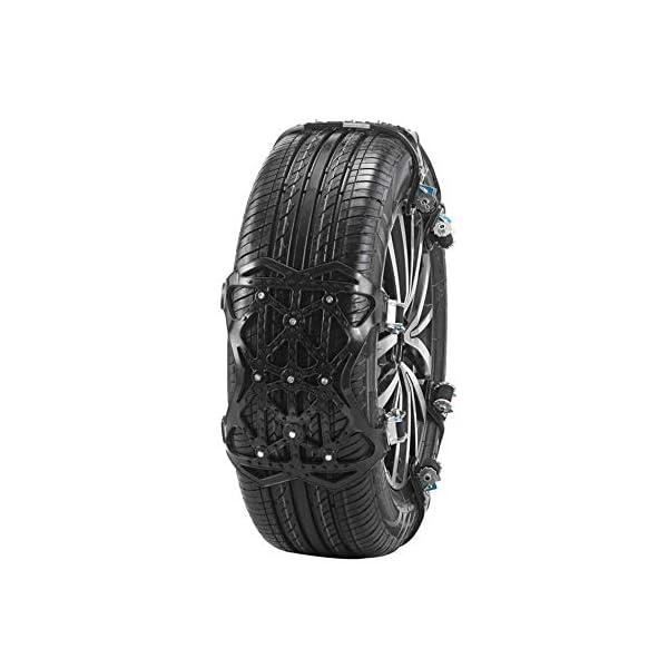Kacsoo Chaînes de pneus Chaînes à Neige Chaîne d'urgence antidérapante d'hiver Chaînes à Neige universelles pour pneus…