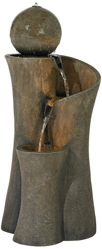 Outdoor Lighted Garden Fountains - 2