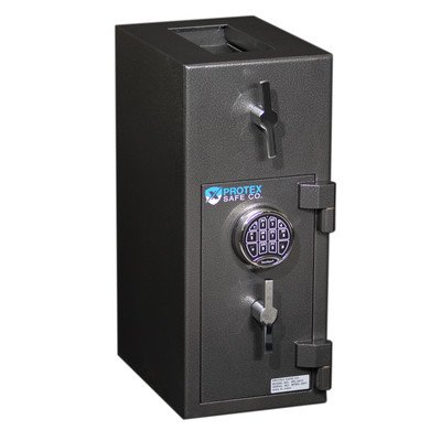 Rotary Hopper Electronic Lock Commercial Depository Safe
