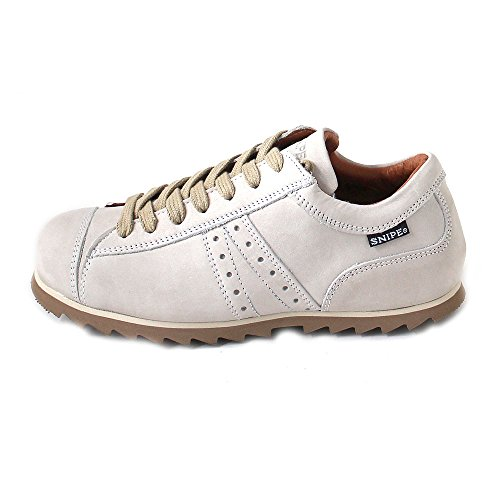 Half up Shoe blanco Beige Classic Women's Lace Snipe zZBggq