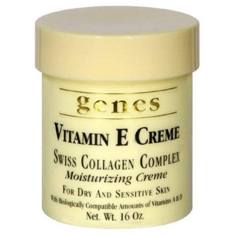 Genes Vitamin E Creme, 16 oz, 4 Pack