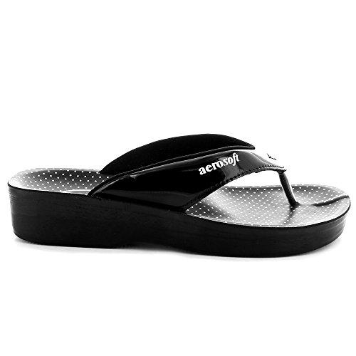 Sandalo In Ontano Nero Aerosoft - Taglia 6