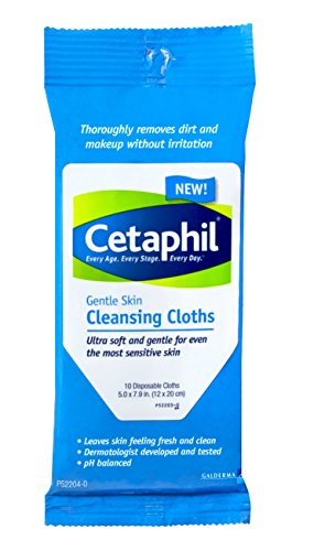 Cetaphil Gentle Cleansing Cloth Count