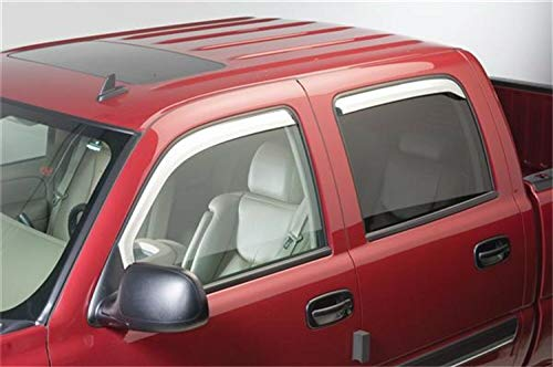 (Putco 480137 Element Chrome Window Visor - Set of)