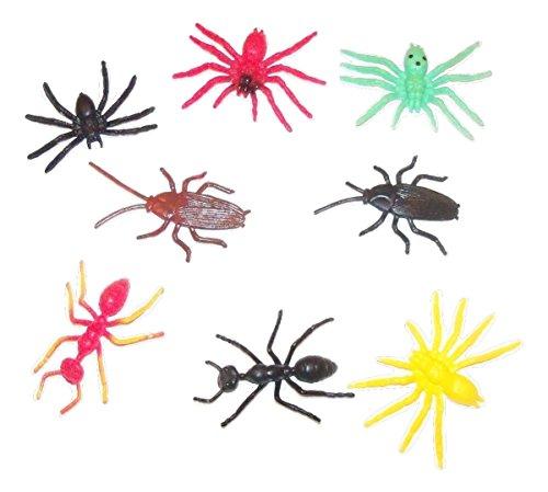 8 Plastic Bugs - 4
