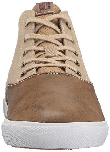 Ben Sherman Mens Pete Chukka Fashion Sneaker Taupe