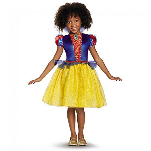 Dopey Halloween Costume (Snow White Classic Disney Princess Snow White Costume, Medium/7-8)