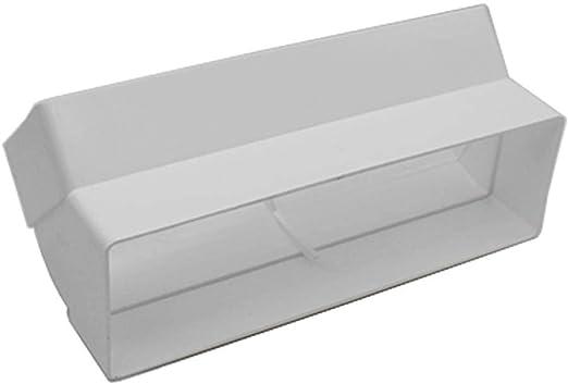 Kair Rectangular 204 mm x 60 mm Vertical 45 Grados Codo a Codo – SYS-204 – ducvkc5617: Amazon.es: Hogar