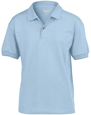 DryBlend Youth 5.6 oz. 50/50 Jersey Polo