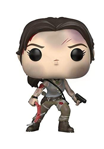 Funko 29007 Lara Croft POP Vinyl Tomb Raider S2, Multi Funko Pop! Games: Accessory Toys & Games
