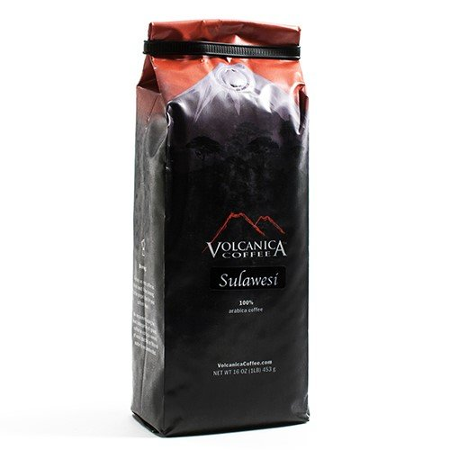 Sulawesi (Celebes Kalossi) Whole Bean Coffee (16 ounce)