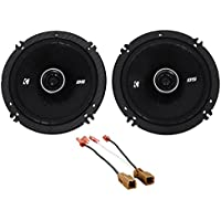 2000-2004 Nissan Xterra Kicker Front Door 6.5 Speaker Replacement Kit