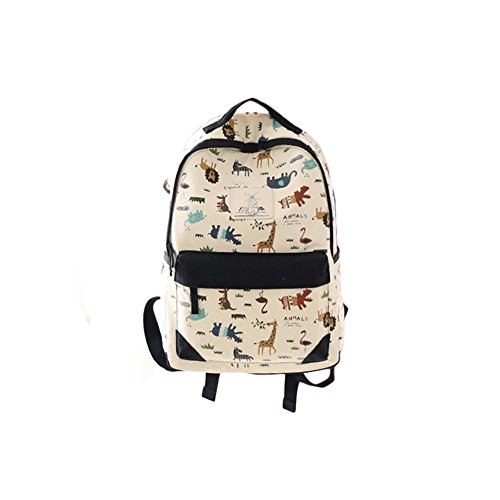 Fashion Student Bag Casual Canvas Rucksack Kleine Fresh Travel Rucksack_A3