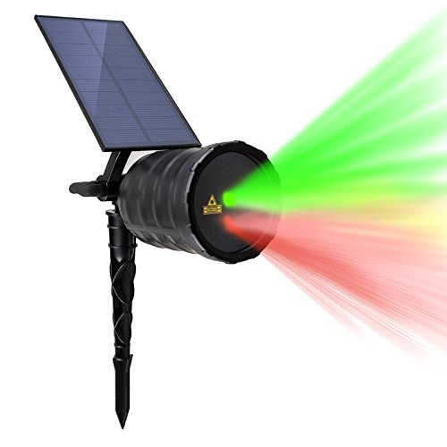 Outdoor Laser Twinkle Lights - 9