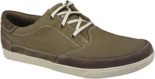Skechers Mens Cardova Bartos Oxfords Khaki usdJO