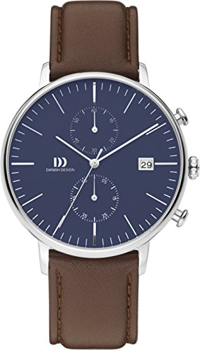 Danish Design Q42Q975 Mens Brown Chronograph Watch