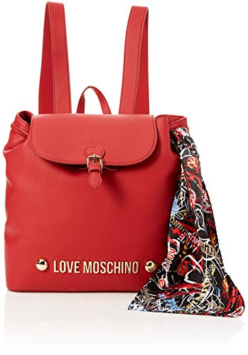 A Zainetto Rosso Donna Pu Bonded Borsa Love Moschino Borse xC7qqBg
