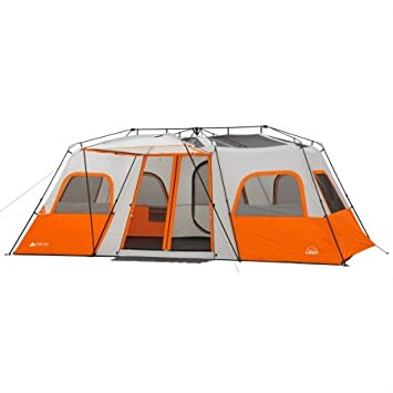 Ozark Trail 18 x 10 Instant Cabin Tent with Integrated Led Light, Sleeps 12