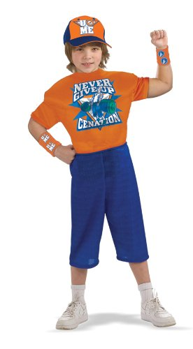 WWE John Cena Deluxe Child Costume (Small) by Halloween FX