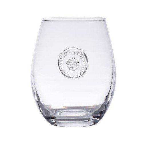 - Juliska Berry & Thread Glassware Clear Stemless White Wine