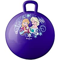 Getko Space Hopper Jump N Bounce Retro Ball Handle Ride-on Toy Bouncy for Kids, 65cm (Multicolour)