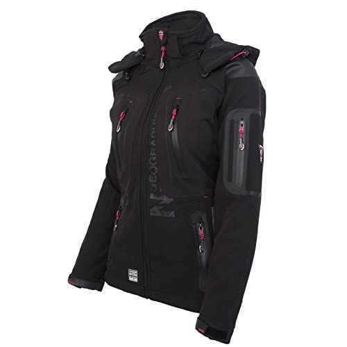 Chaqueta multifunci/ón softshell impermeable para mujer de Geographical Norway verde L