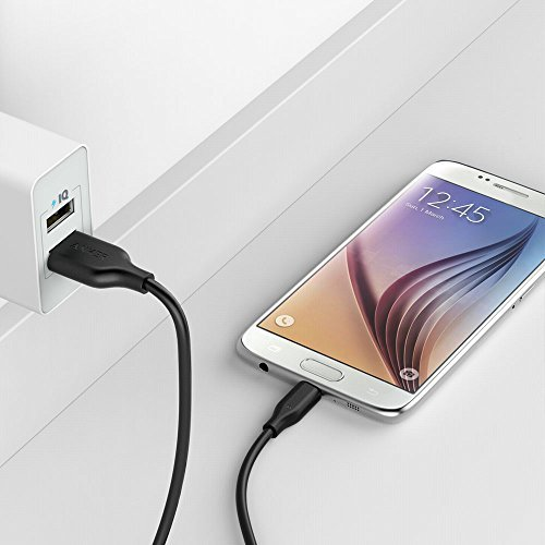 Android Smartphones and More for Samsung Anker - One of The Worlds Fastest LG Most Durable Charging Cable Black 3-Pack Powerline Micro USB 3ft Assorted Lengths Nexus Motorola