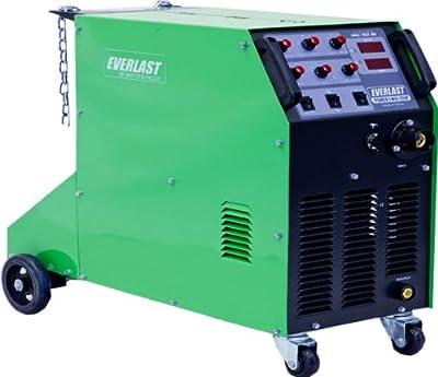 Everlast Poweri-MIG 250P Pulse MIG Stick Welder, 220/240V, Green