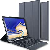IVSO Case with Keyboard for Samsung Galaxy Tab S4 10.5 - One-Piece Wireless
