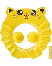 Baby Shower Cap Bathing Cap,Adjustable Protective Baby Shower Cap Safety Visor Cap Hair Washing Shampoo Shield Bathing Hat