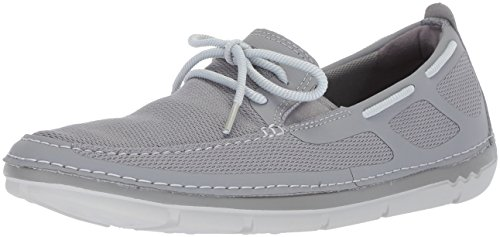 online cheap price buy cheap wide range of CLARKS Men's Step Maro Wave Boat Shoe Grey Textile ubnG5