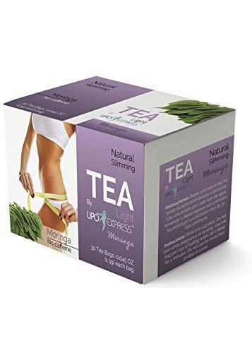 Lipo Express Moringa Tea Weight Loss Tea Detox, Express Appetite Suppressant, 30 Day Tea