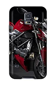 Fashionable RBwNdFT3209IZLgK Galaxy S5 Case Cover For Ducati Streetfighter 2009 Protective Case