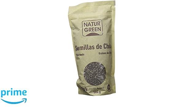 Naturgreen Semilla de Chöa Doypack - 500 gr: Amazon.es: Salud y ...