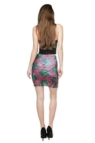 Funny Skirts Company© Impreso Faldas 3d Imprimir/Motivo/Diseño Un Tamaño De Unisex Primavera De Verano 2017 (JUNGLE CHAIN 29895)