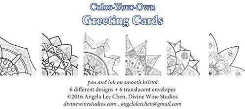 Handmade Greeting Coloring Foldover 4 25x5 5 product image
