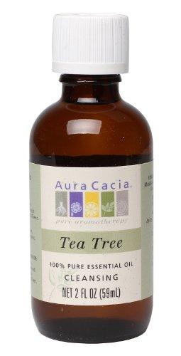 Aura Cacia Essential Oil, Cleansing Tea Tree, 2 fluid ounce